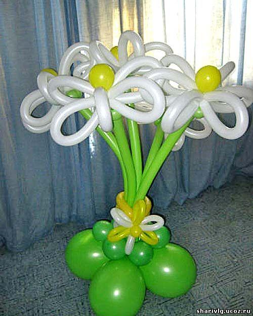 Букет из воздушных шаров - Солнечное настроение