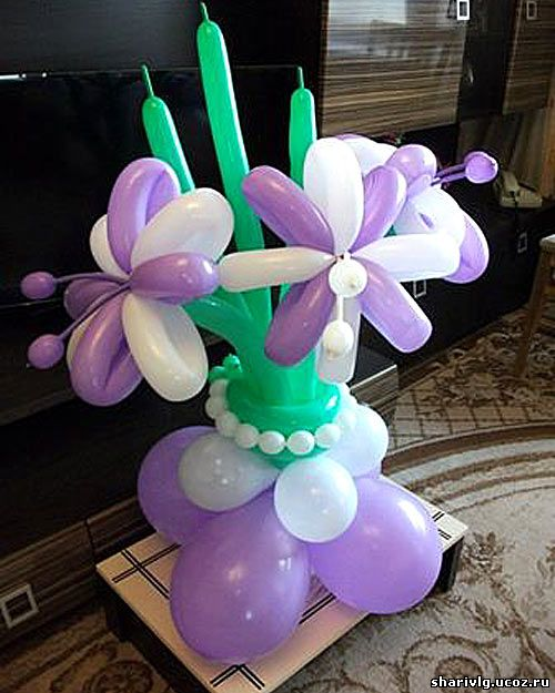Букет из воздушных шаров - Радость