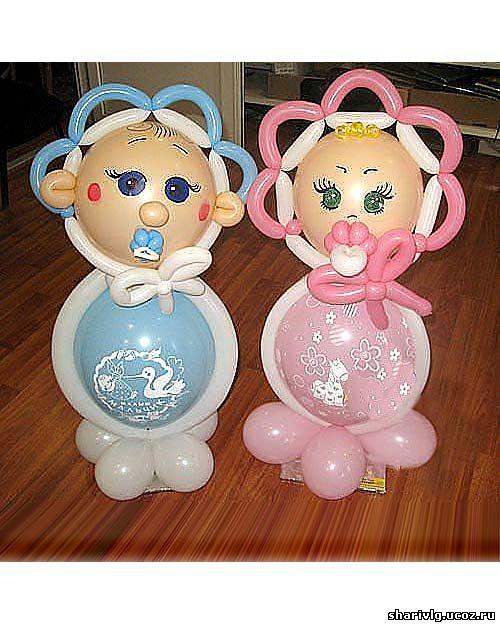 Лялечка из воздушных шаров - Мальчик (или девочка)